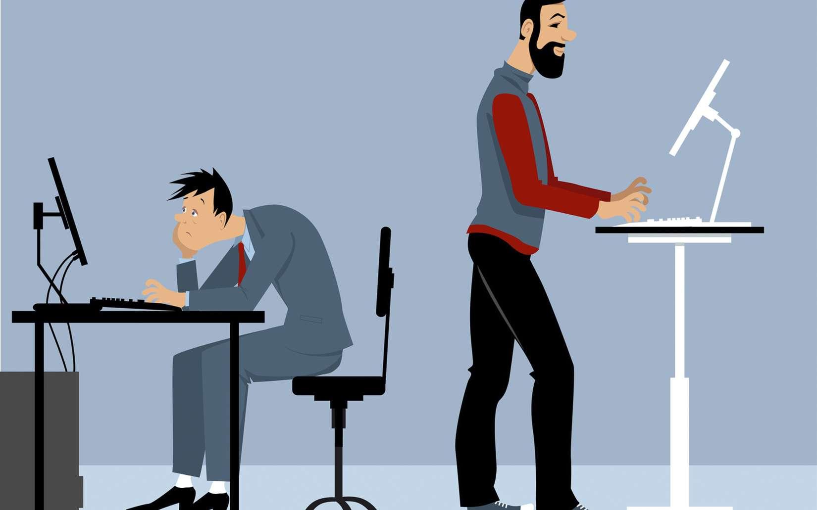 Travailler debout : ses avantages et combien de calories peut-on perdre ?