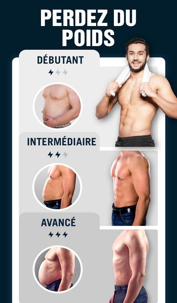 perte de poids pour les hommes débutants