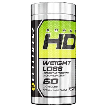 Supplément Cellucor Super HD 60 capsules - gelule brule graisse efficace