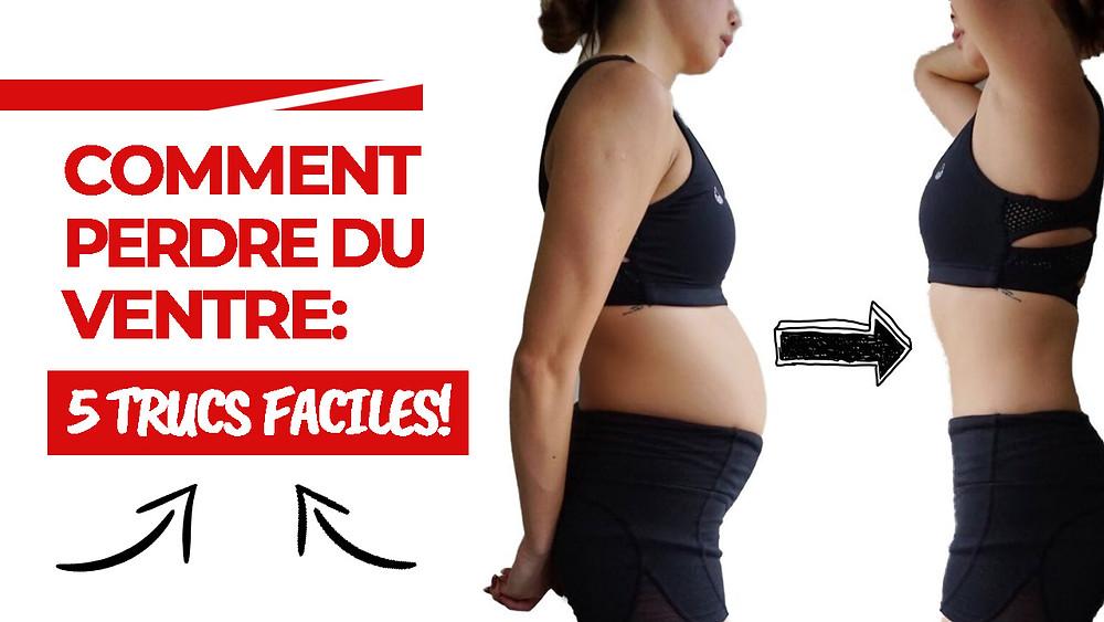 comment perdre du poids sur mon ventre