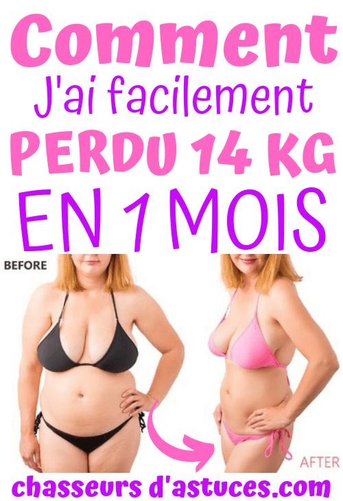 résultats de perte de poids acv 1 mois ff perte de poids
