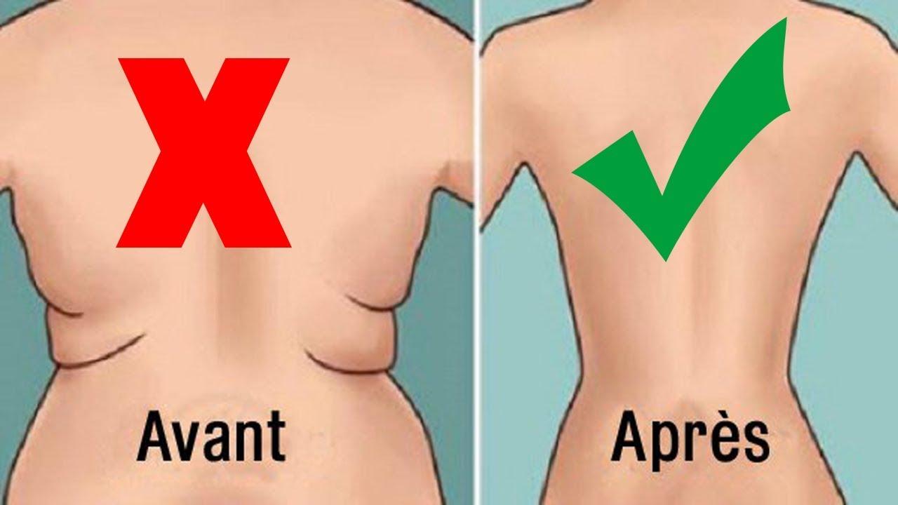 Perdre le gras dans le bas du dos