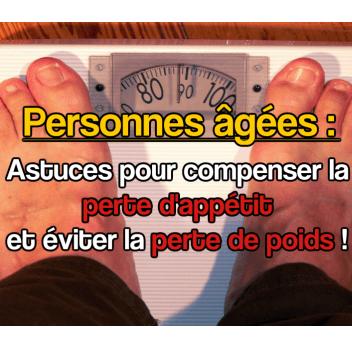 8 raisons à la perte de poids des personnes âgées (partie 1)