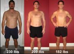 perte de poids 230 à 180