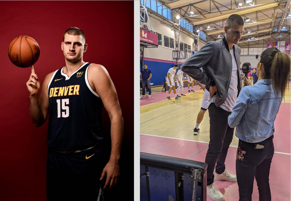 NBA - L'impressionnante transformation physique de Nikola Jokic !