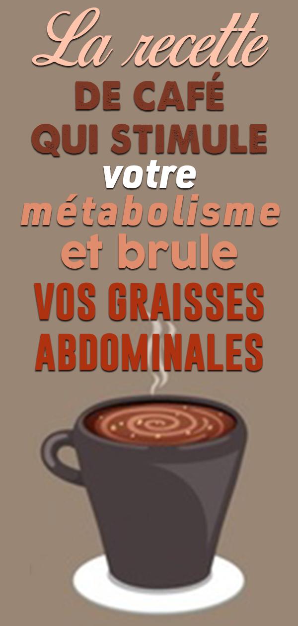 brûleur de graisse ou café