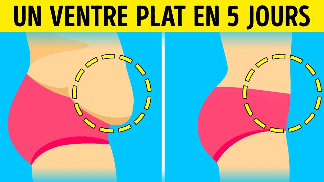 Perdre du ventre avec nos 3 exercices Ventre Plat