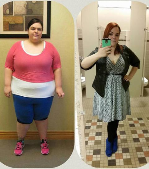 grosse perte de poids de fille désossée