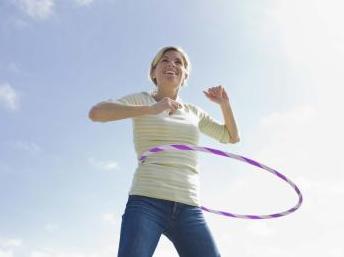 hula hooping pour perdre la graisse du ventre