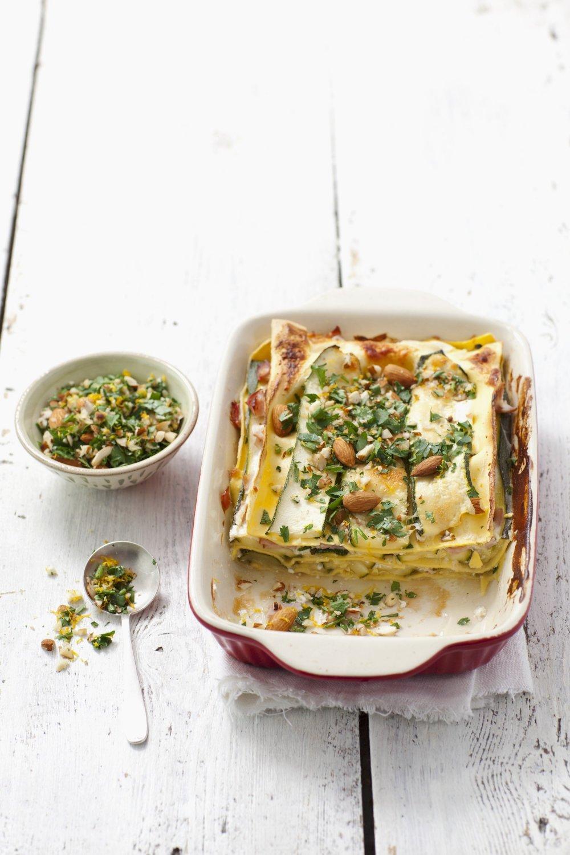 Recette lasagnes minceur végétariennes - Marie Claire