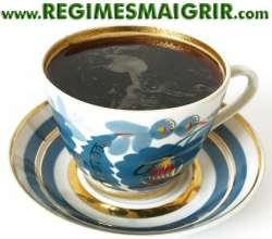 le café noir vous fait perdre du poids repas de perte de poids faible en gras