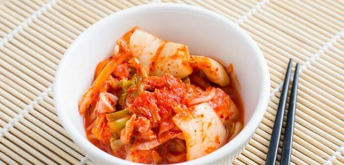 le kimchi profite à la perte de poids