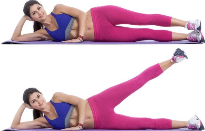 perdre du poids autour des hanches