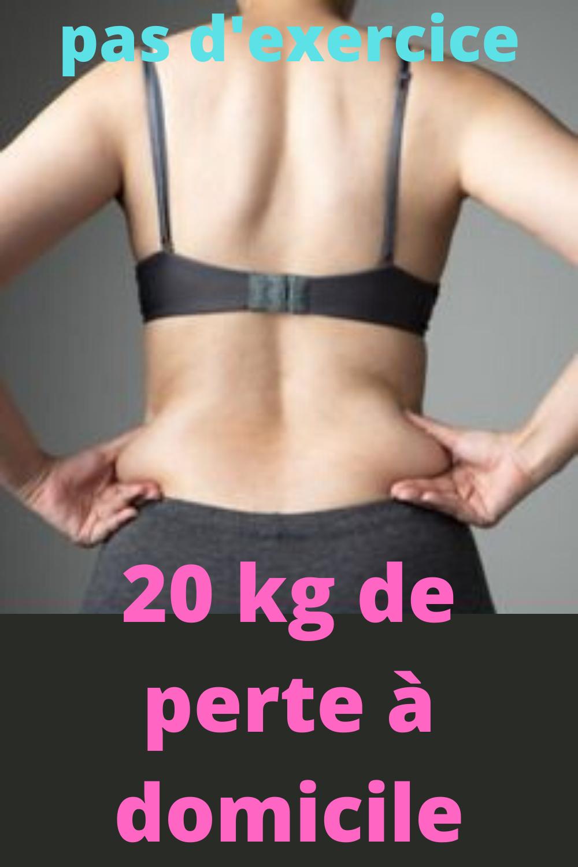 perte de poids à domicile