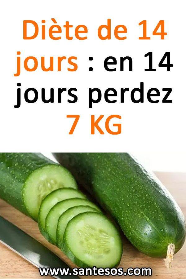 14 jours pour perdre du poids, jusqu'à 8 kilos !