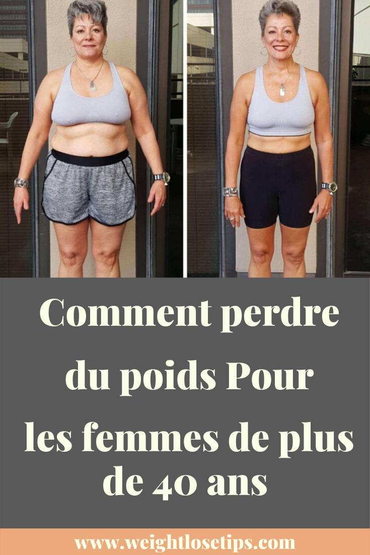 perte de poids pour une femme de 47 ans