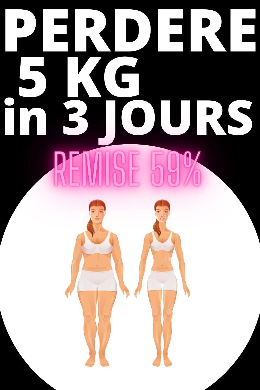 perte de poids rapide en 3 jours