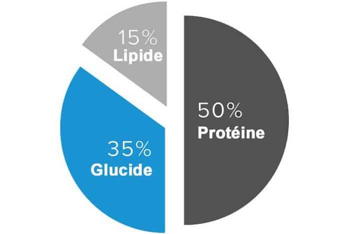 pourcentages macro de perte de poids