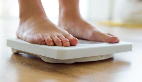 période précoce de perte de poids