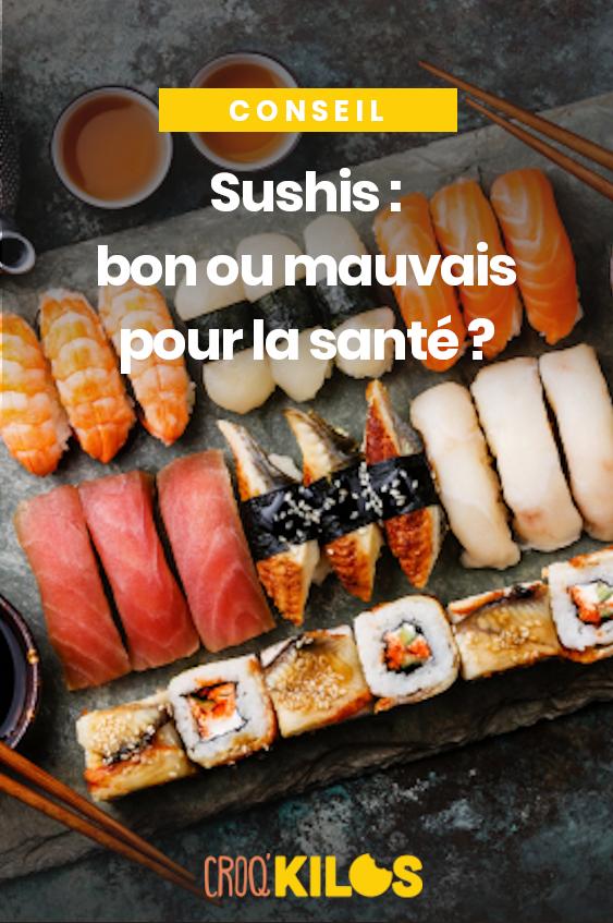 Sushis : que choisir au restaurant japonais quand on veut perdre du poids ?