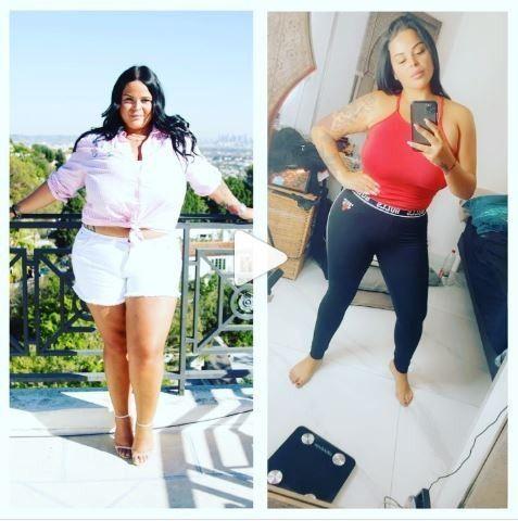 transformation de la perte de poids de sarah pqq perte de poids