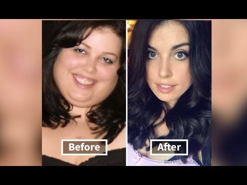 transformation du visage perte de poids