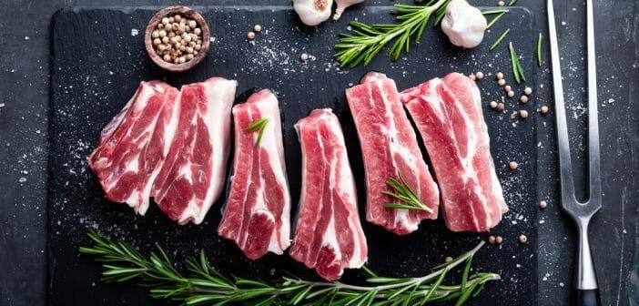 comment enlever le gras des côtes de porc