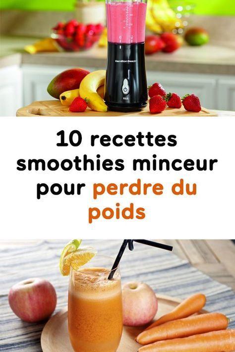 Smoothie minceur : 5 recettes de smoothies brûle-graisse