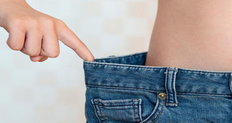 ne peut pas perdre du poids ou des pouces