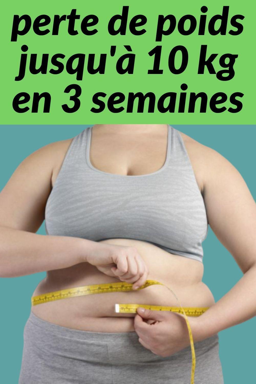 perte de poids en toute sécurité une semaine comment perdre du poids en 4 semaines