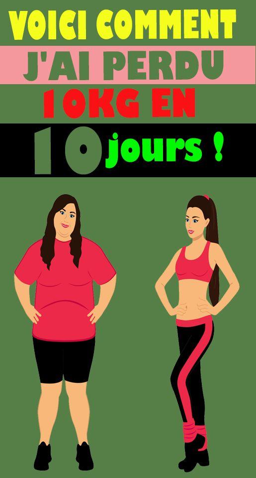 jai 11 jours pour perdre du poids