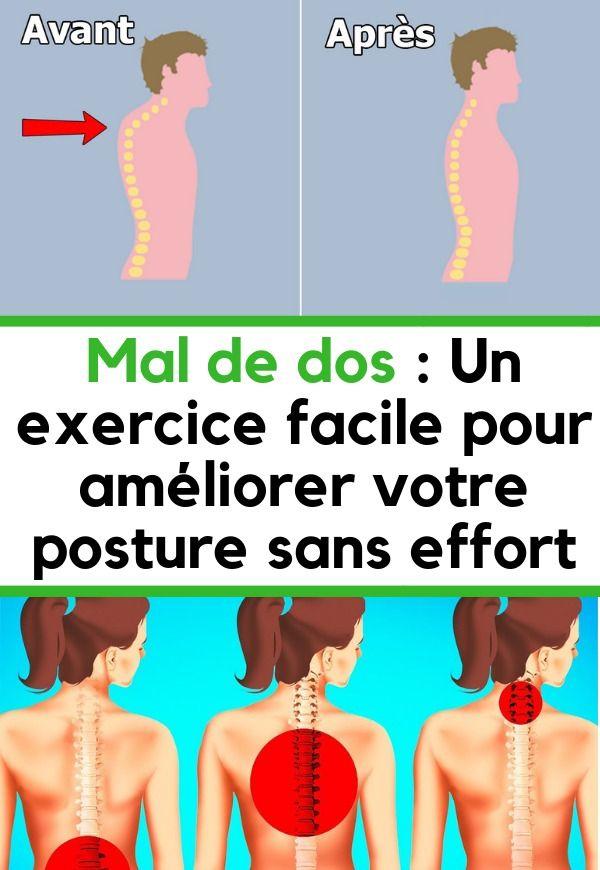 Voici comment se débarrasser de la graisse du dos rapidement et efficacement