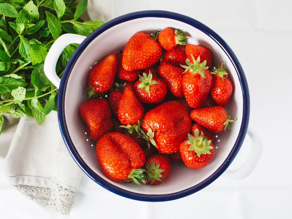 manger des fraises perdre du poids