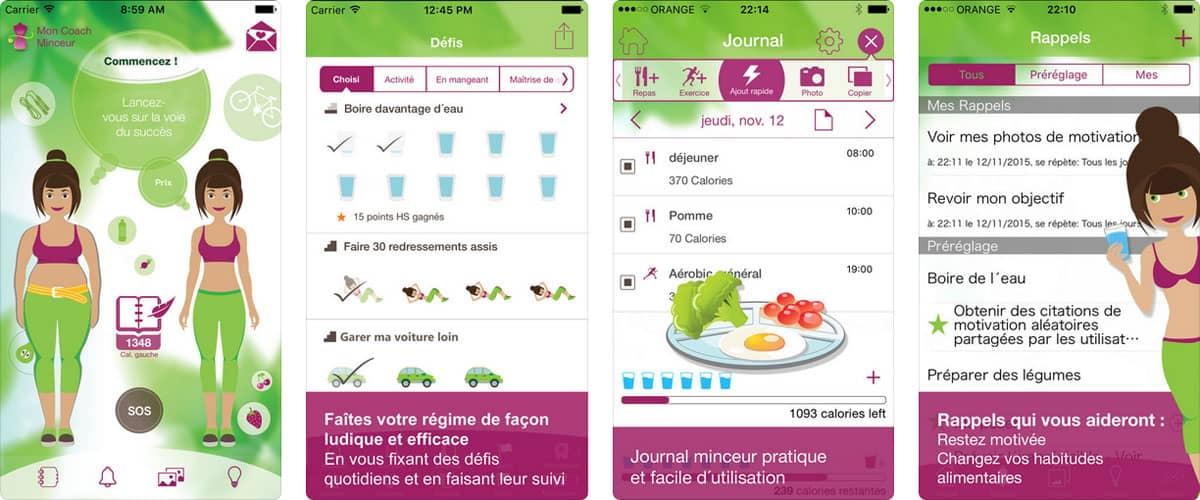 meilleure application iOS pour perdre du poids
