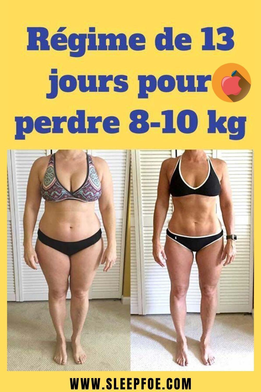 perdre du poids rapidement en 8 jours